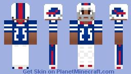 LeSean McCoy [ Buffalo Bills ] { HB } Minecraft Skin
