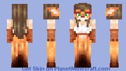 Masquerade Fox Minecraft Skin