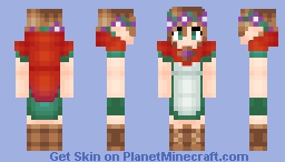 Poppy: The Girl of the Purple Forest Minecraft Skin
