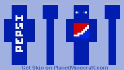 Pepsi Can! Minecraft Skin