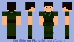 Ranger Combat Armor Minecraft Skin