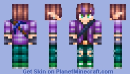 Devin the Elf Miner Minecraft Skin