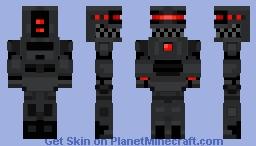 RedR Minecraft Skin