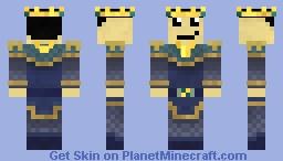 Royal Armour Oceanus Minecraft Skin