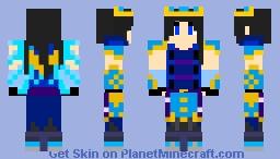 Ice Angel Sergio Minecraft Skin