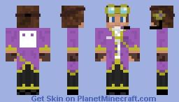 Steampunk Blockface Minecraft Skin