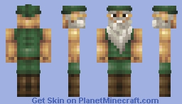 The Woodland Hermit [Contest] Minecraft Skin