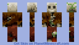 Adventurers Bones (Into the Woods contest) Minecraft Skin