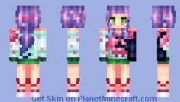 Cherry Blossom Sweater Minecraft Skin