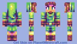Zelda decided to cosplay [PBL] Minecraft
