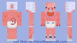 Baby Piggy Minecraft Skin