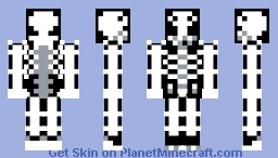 BoneHead (Costume Party Skin) Minecraft Skin