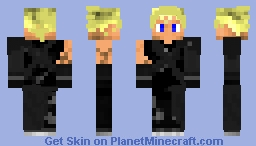 Cloud Strife Minecraft Skin