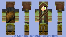 Alexia - The Hunter (Into The Woods) Minecraft Skin