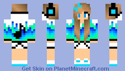 Music Chick! Minecraft Skin