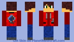 Red Jacket Skin (couldn't think of a name) Minecraft Skin
