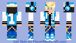 Blonde Boy Minecraft Skin