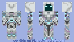 terraria spectre armor Minecraft Skin