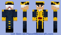 Pirates of the Caribbean: EITC Officer Minecraft Skin