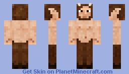 Forest Faun Minecraft Skin