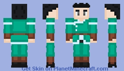 Gym Leader Ryuu (Dragon) Minecraft Skin