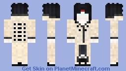 [Six Paths} Kazejin Otsutsuki *Naruto Oc* Minecraft Skin