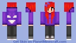 ʜᴀɴɴᴀʜ =^.^= Lavender Town Syndrome Minecraft Skin