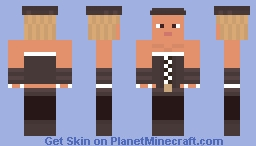 Pirate girl Minecraft Skin