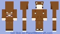 Bear Costume Kid Minecraft Skin