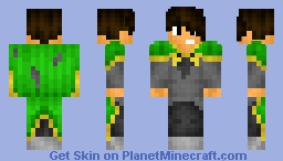 Rollan the Greencloak - Spirit Animals Character Minecraft Skin