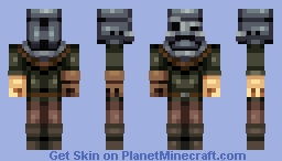 The Man in the Iron Mask Minecraft Skin