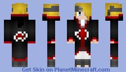 Akatsuki Deidara Minecraft Skin