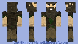 Woodland Hermit Minecraft Skin