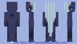 7 Colour Palette Blue Whale Minecraft Skin
