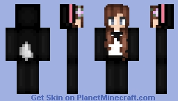 Black Rabbit Brienna Minecraft Skin