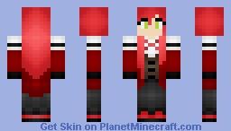 Grell Sutcliff (Kuroshitsuji/Black Butler) Minecraft Skin