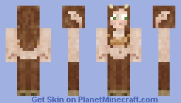 Female Faun Minecraft Skin