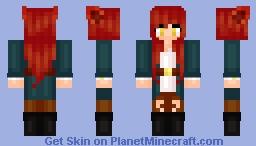 ʜᴀɴɴᴀʜ =^.^= Foxy from Five Night's at Freddy's Minecraft Skin
