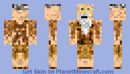 Wise Old Man Minecraft Skin