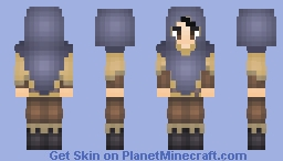 Mage (Skyrim Inspired) Minecraft Skin