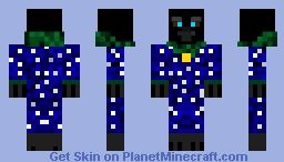 Raven The Forest Magician Minecraft Skin