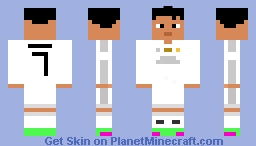 Best Ronaldo Minecraft Skins Planet Minecraft - Skin para minecraft pe de messi