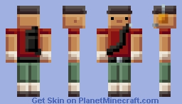 Blocky TF2 Scout