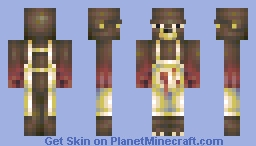 Cooking Bear - A Camper's Worst Nightmare Minecraft Skin