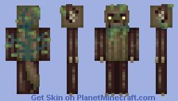 Timber Wolf Minecraft Skin