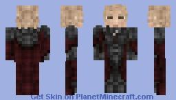Crimson Warrior - 1.8+ Minecraft Skin