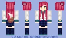 • Academy Ahri • League of Legends • Minecraft Skin