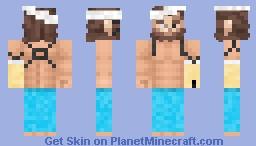 MGS V - Big Boss (Hospital) Minecraft Skin