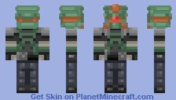 Bl2 Captain Cabrera [Requested} Minecraft Skin