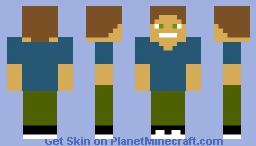 disguised stone man Minecraft Skin